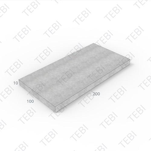 Verhardingsplaat ZHR 100x200x10cm