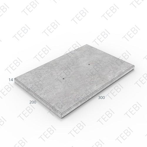 Industrieplaat ZHR 300x200x14cm