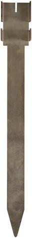 Cortenstaal Ankerpen cortenstaal 50cm