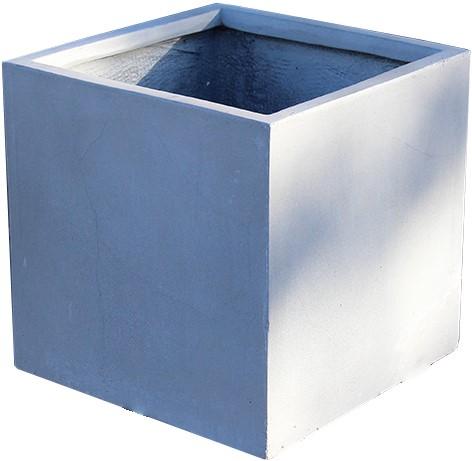 plantenbak EK-Lite vierkant grijs 27x27cm