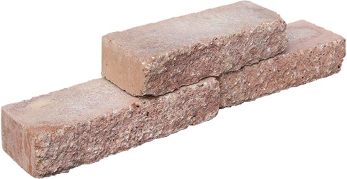 Stapelblok Brickwall terracotta 30x10x6.5