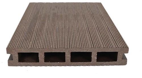 decodeck vlonderplank Tobacco brown 5m