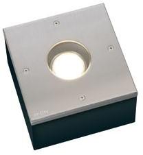 Inlite integrated RVS 150X150 12V /20W FLH-006