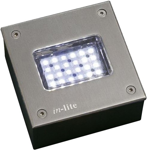Inlite Integrated Led RVS CW 12V / 3W FLHLED015 1200517