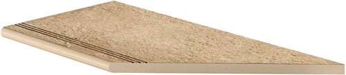 Ceramica Lastra Afdekplaat antislip rond hoekstuk DX 30x60x2cm