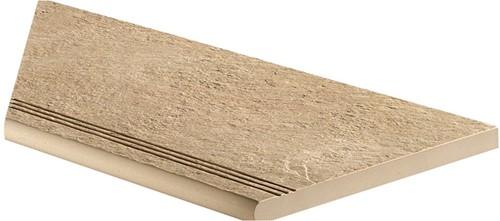 Ceramica Lastra Afdekplaat antislip rond hoekstuk SX 30x60x2cm