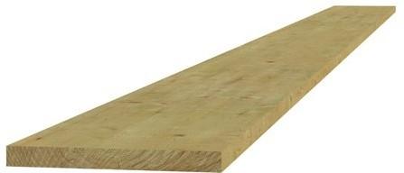 Midden-Europees vuren fijnbezaagde plank 1,9x14,5x180cm (W06425)