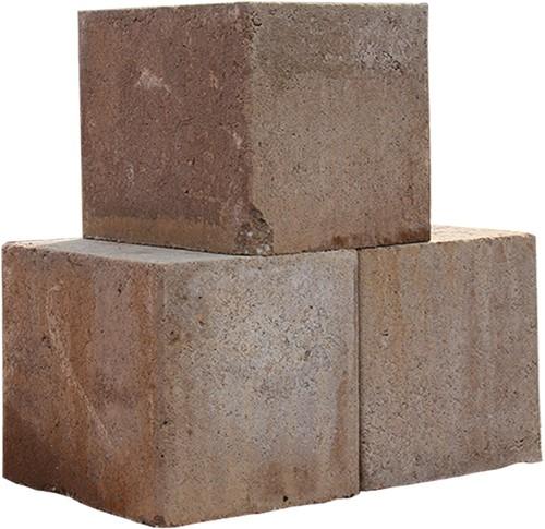 Stapelblok patio lever 15x15 strak
