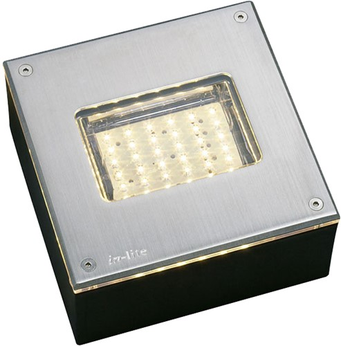 Inlite Integrated Led RVS WW 12V / 3W FLHLED014 1200616